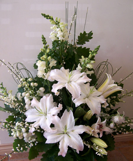 Church Altar Flowers For Weddings: Salem Evangelical Lutheran